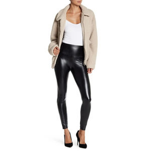 Love Life Faux Leather Stretch Leggings